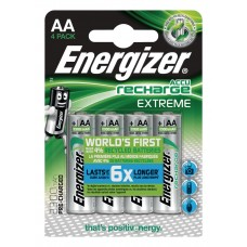 Oplaadbare NiMH Batterij AA 1.2 V Extreme 2300 mAh 4-Blister
