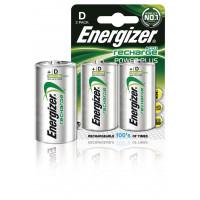 Oplaadbare NiMH Batterij D 1.2 V Power Plus 2500 mAh 2-Blister